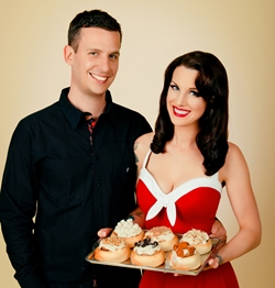 Shannon and Florian Radke of Cinnaholic for Vegan Business Talk with Katrina Fox