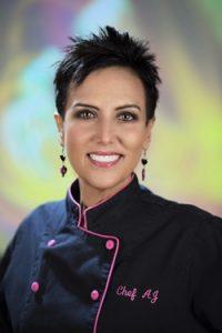 Chef AJ on Vegan Business Talk with Katrina Fox of Vegan Business Media