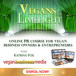 Online PR course for vegan business owners and entrepreneurs