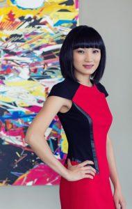 Nikki Duong-Koenig of Cykochik Custom Handbags for Vegan Business Talk with Katrina Fox of Vegan Business Media