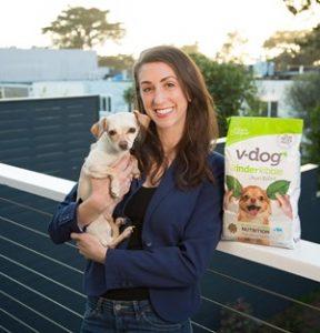 Lindsay Rubin of v-dog for Vegan Business Talk with Katrina Fox of Vegan Business Media