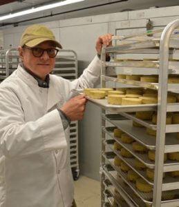 Michael Schwarz of Treeline Treenut Cheese vegan cheesemaker for Vegan Business Talk with Katrina Fox