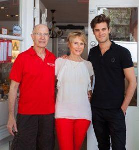 Christophe Caron of Delice & Sarrasin vegan French restaurant for Vegan Business Talk with Katrina Fox