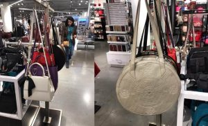 GUNAS vegan bags at Macy's in New York